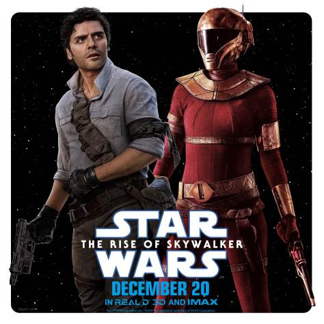 Star Wars The Rise of Skywalker - Character Teams - Poe Dameron and Zorri Bliss