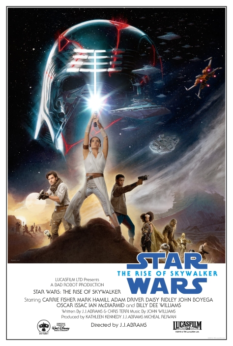 Star Wars The Rise Of Skywalker - Classic 1977 Poster Edit