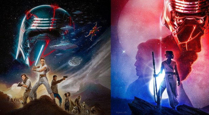 NEW Star Wars: The Rise of Skywalker Imax and Real3D Posters