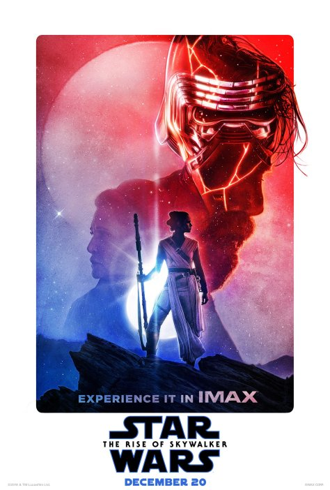 Star Wars The Rise of Skywalker Imax Exclusive Poster