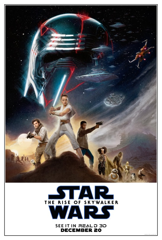 Star Wars The Rise of Skywalker RealD3D Exclusive Poster