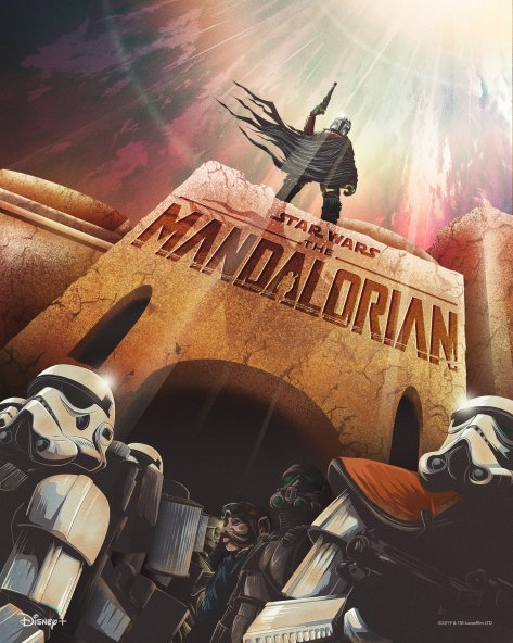 The Art of Star Wars The Mandalorian - Art by 17thandOak