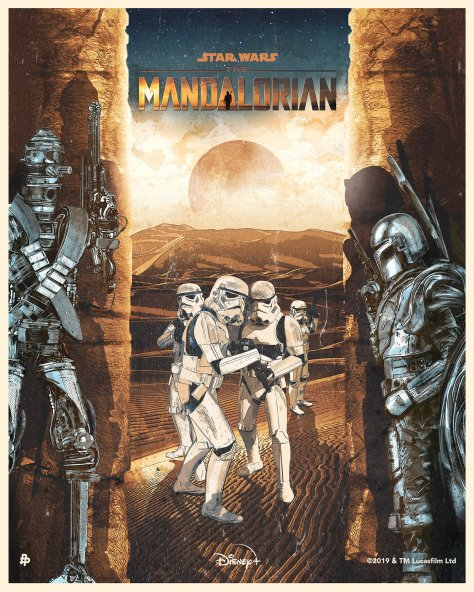The Art of Star Wars The Mandalorian - Art by Melbs