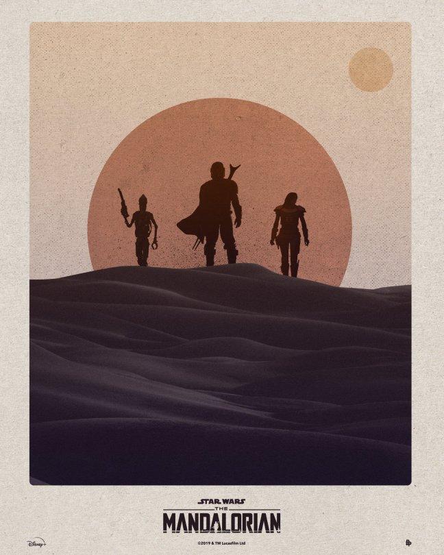 The Art of Star Wars The Mandalorian - Art by NeedleDesign