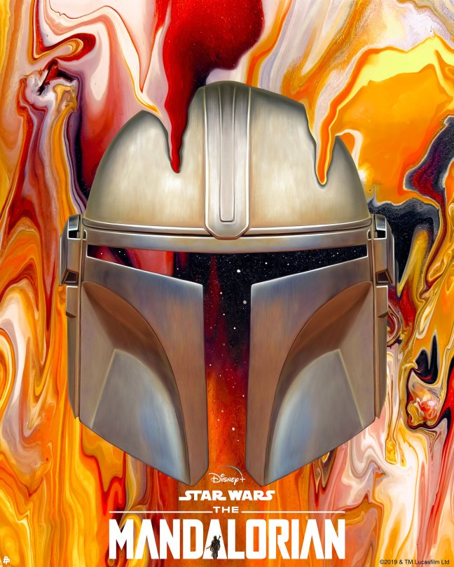 The Art of Star Wars The Mandalorian - Art by nickybarkla