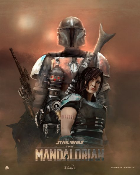 The Art of Star Wars The Mandalorian - Art by Rolarafal