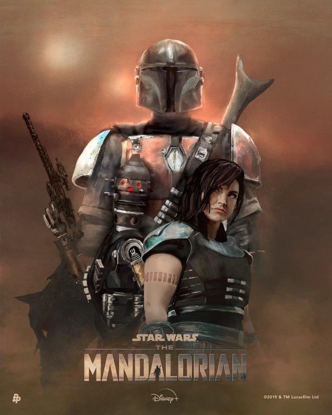 The Art of Star Wars The Mandalorian - Art by Rolarafal