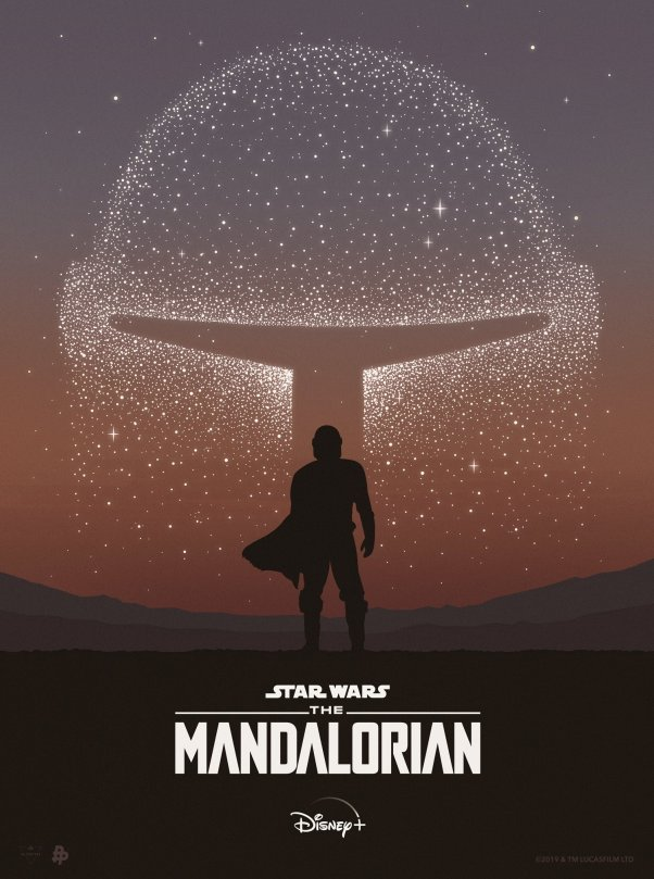 The Art of Star Wars The Mandalorian - Art by SG_Posters