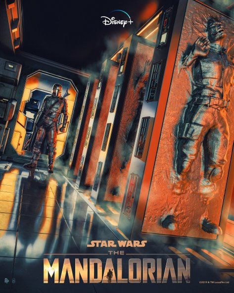 The Art of Star Wars The Mandalorian - Art by SkinnerCreative