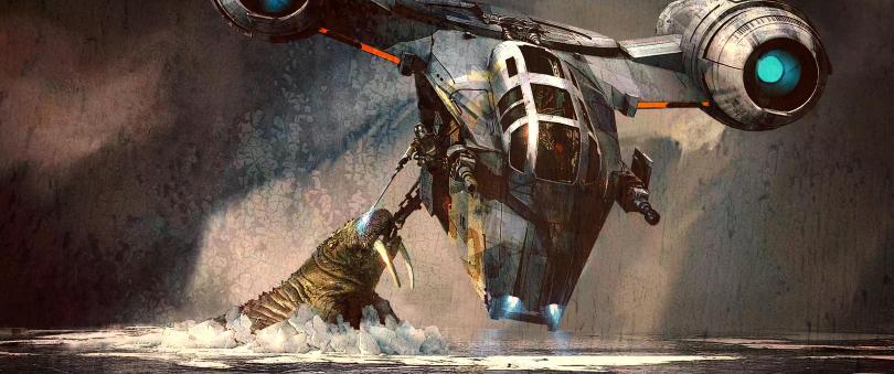 The Art of Star Wars The Mandalorian - End Credits Art - 2