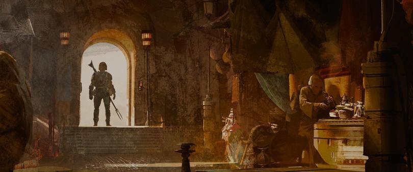The Art of Star Wars The Mandalorian - End Credits Art - 7