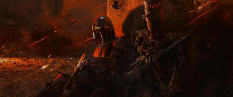 The Art of Star Wars The Mandalorian - End Credits Art - 9