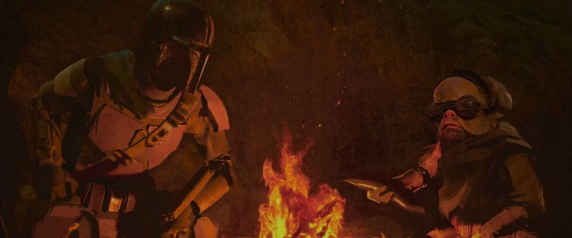 The Art of Star Wars The Mandalorian - End Credits Art Chapter 2