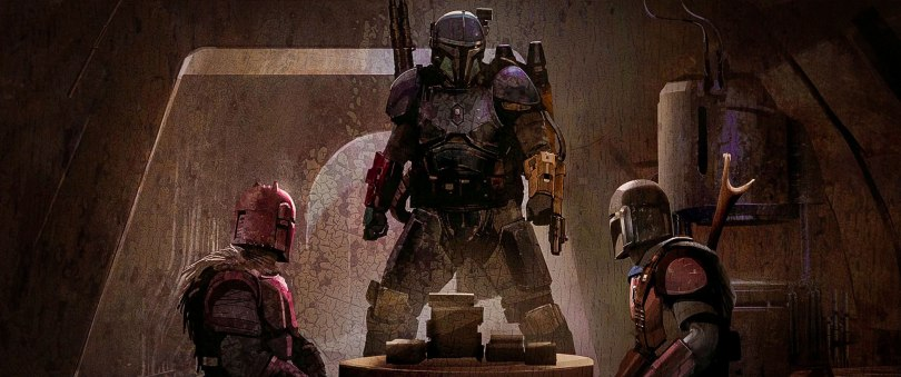The Art of Star Wars The Mandalorian - End Credits Art Chapter 2 The Sin