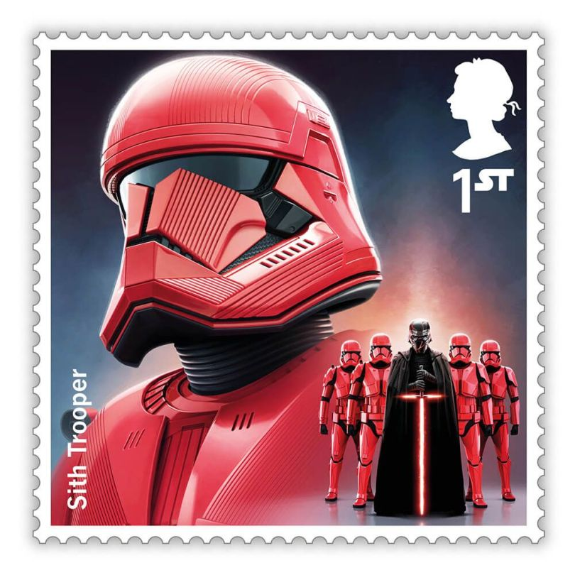 The Star Wars Saga Royal Mail Stamps - The Rise of Skywalker