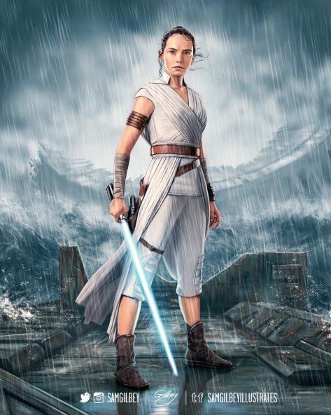 Art of Star Wars The Rise of Skywalker Posters 1