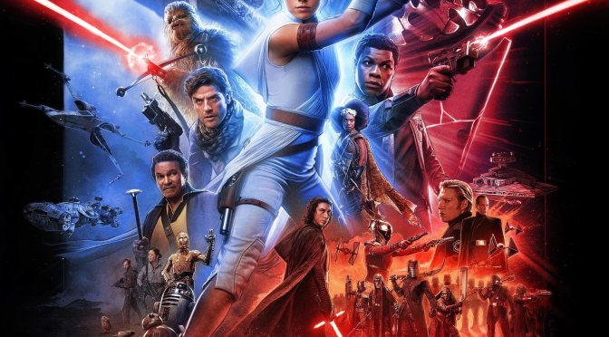 Star Wars: The Rise of Skywalker 'Paul Shipper' International Poster - UHR