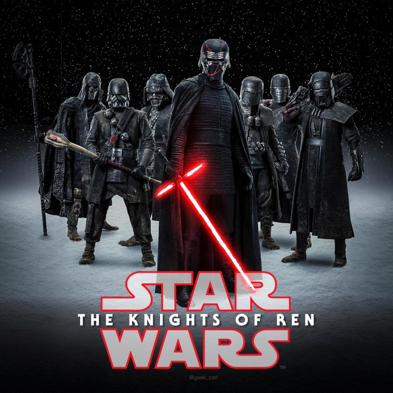Star Wars The Rise of Skywalker - The Knights of Ren Poster