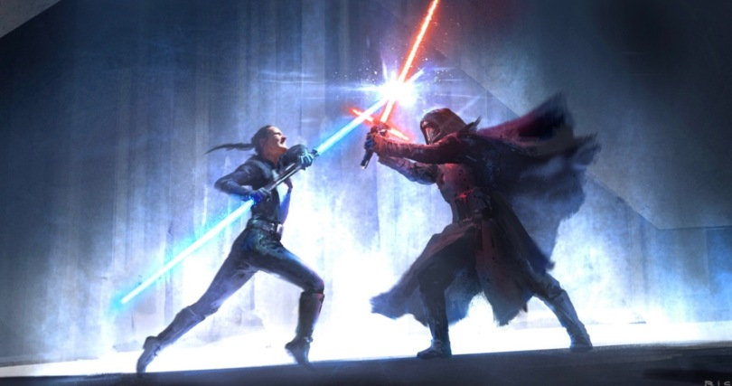 Star Wars Duel of the Fates Leaked Concept Art - Part 1