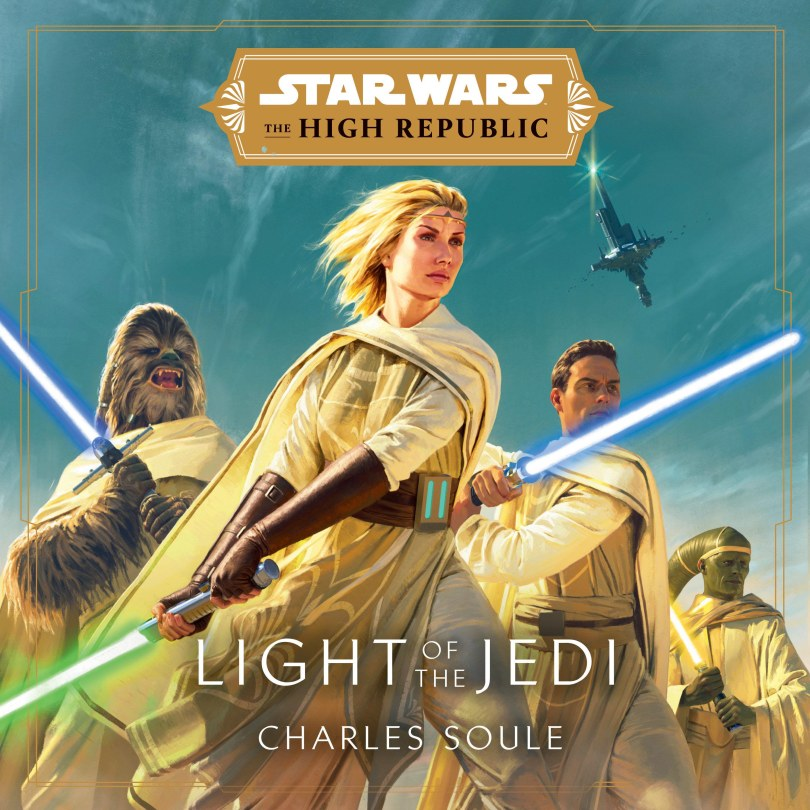 Star Wars The High Republic Light of the Jedi - Audio Book Cover Hi-Res