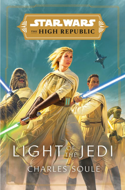 Star Wars The High Republic Light of the Jedi - Book Cover