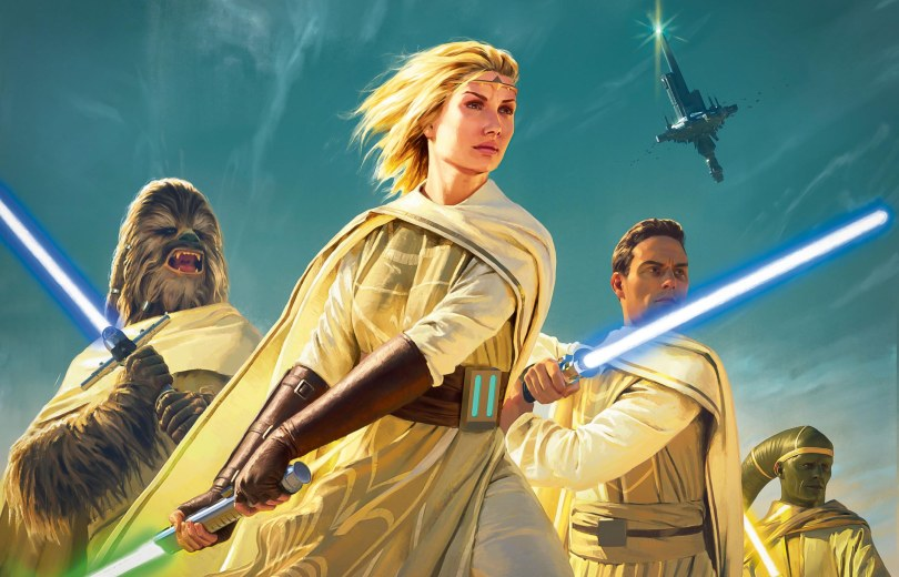 Star Wars The High Republic Light of the Jedi Textless Banner