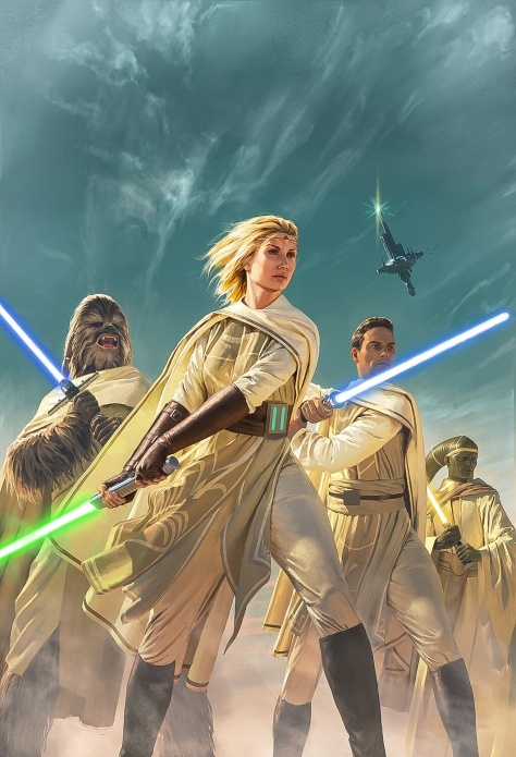 Star Wars The High Republic Light of the Jedi Textless Book Cover