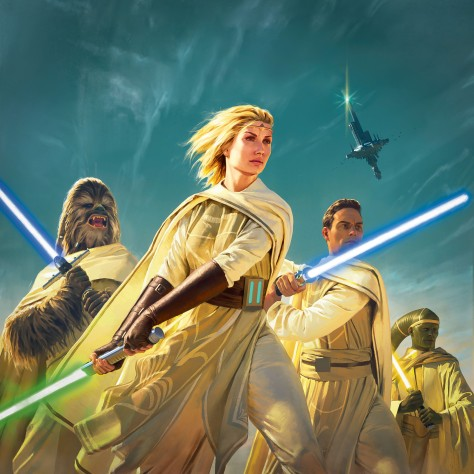 Star Wars The High Republic Light of the Jedi Textless Cover