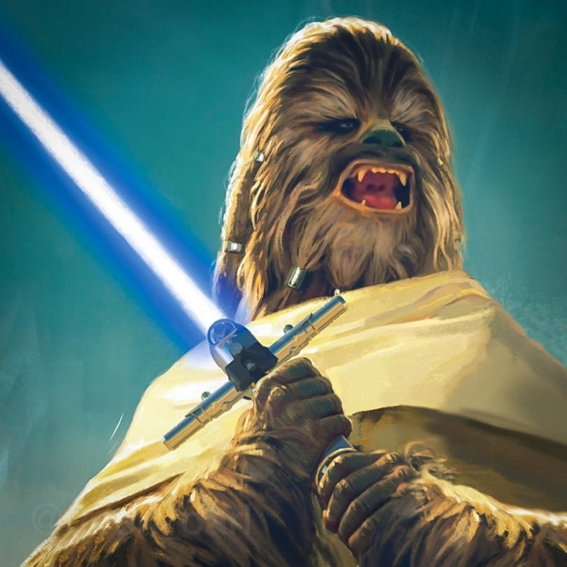 Star Wars The High Republic Light of the Jedi - The Wookiee Jedi - Burryaga Agaburry