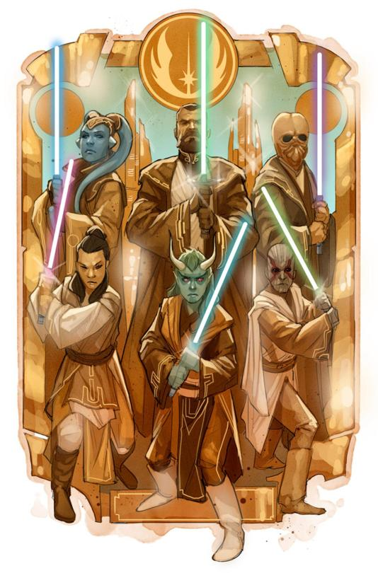 Star Wars The High Republic Marvel Comic Series