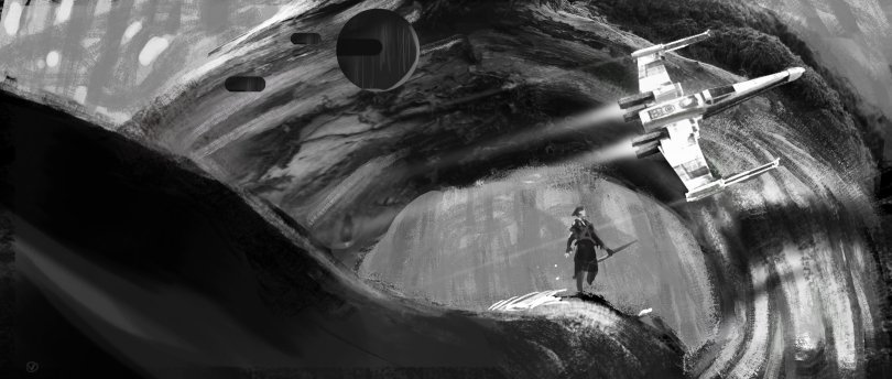 Star Wars The Rise of Skywalker Concept Art by David Levy